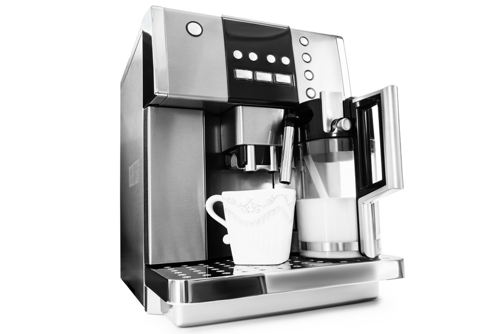 Kleiner Kaffeevollautomat für zuhause oder das Büro