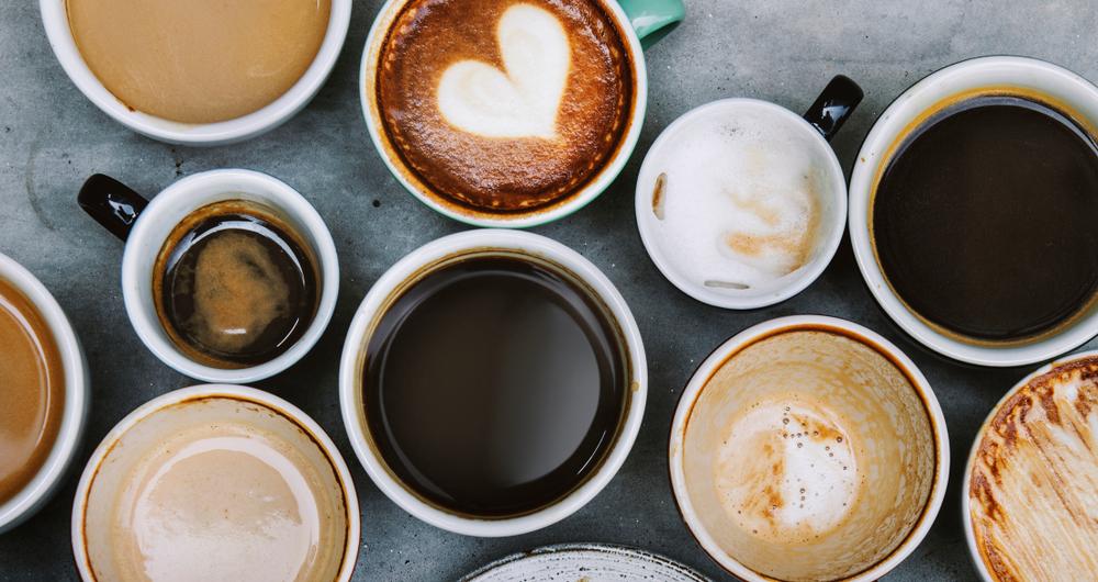 Espresso, Cappuccino, Cafe Crema